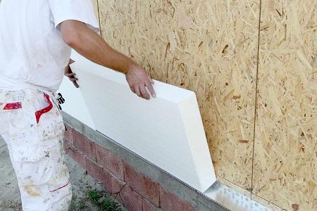 Основные этапы утепления и монтаж пенопласта на фасаде