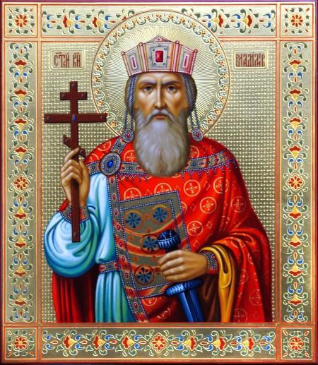 Когда и при каких обстоятельствах появилась первая икона князя Владимира